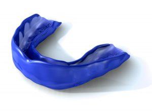 A mouthguard.