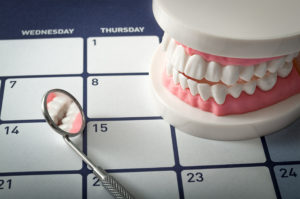 dental equipment and calendar